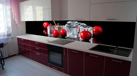 Кухя пластик Arpa Красная с Белым
