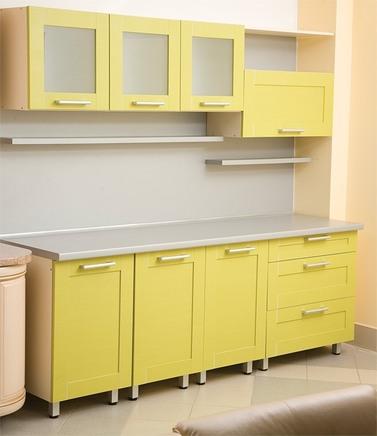 Кухня Желтая