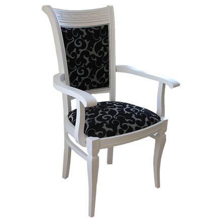 Сенатор белое кресло