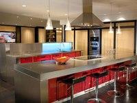 Кухня из Стали с Итальянскими фасадами Stival + Arpa