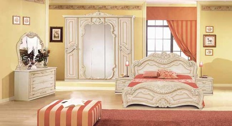 "Спальня ""Бегония"" цвет беж"