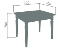 Стол «Дана»