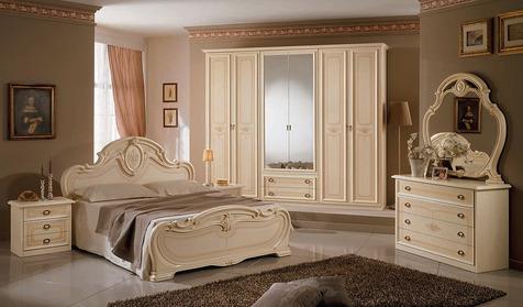 Спальня Дебора бежевый