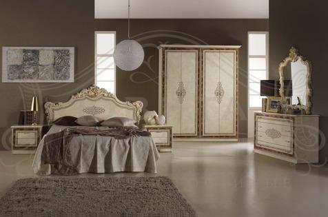 """Мебель для спальни """"Джессика"""", цвет бежевый"""