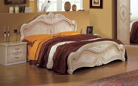 Кровать Фея слоновая кость