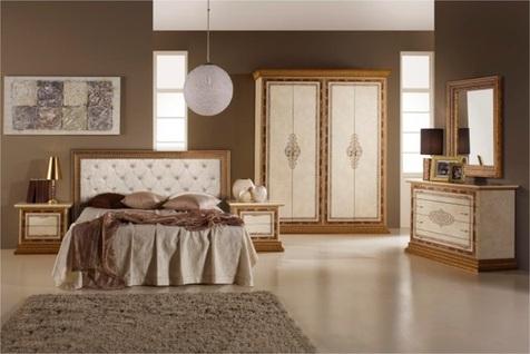Спальня Дженнифер 4 дв +ткань