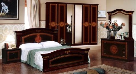 """Спальня """"Имперо"""" 6 дв., (махагон)"""