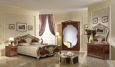 """Спальня """"Карина"""", цвет: орех"""