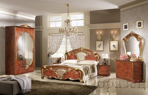 "Спальня ""Карина"", цвет: черешня"