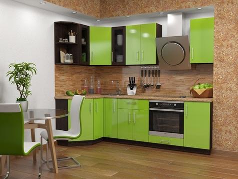 Кухня Салатовая