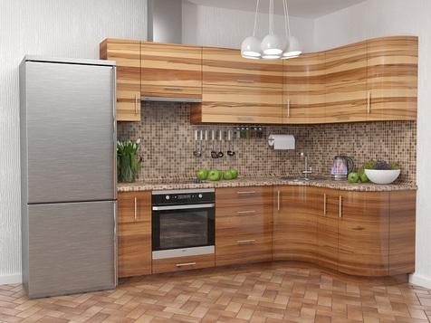 Кухня Пластик ARPA глянец