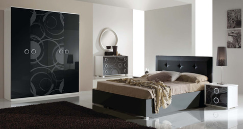 Спальня Метрополис Арена черный