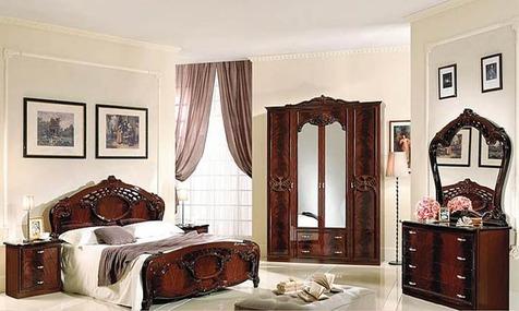 "Спальня ""Олимпия"" цвет  могано"
