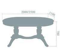 Стол «Паола 4»