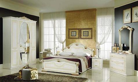 """Спальня """"Виктория"""" цвета: беж"""