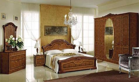 """Спальня """"Виктория"""" цвета: орех"""