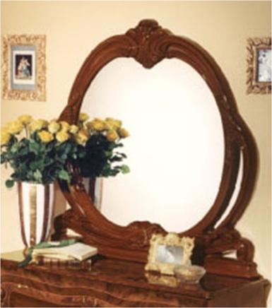"Зеркало от комода ""Виттория""  (орех  )"